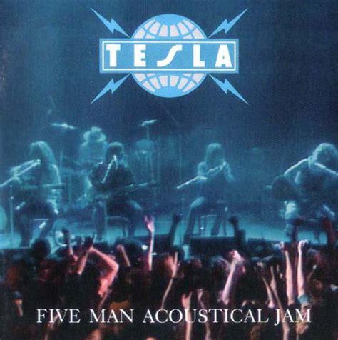 tesla five acoustical jam tesla five acoustical jam vinyl lp album at discogs