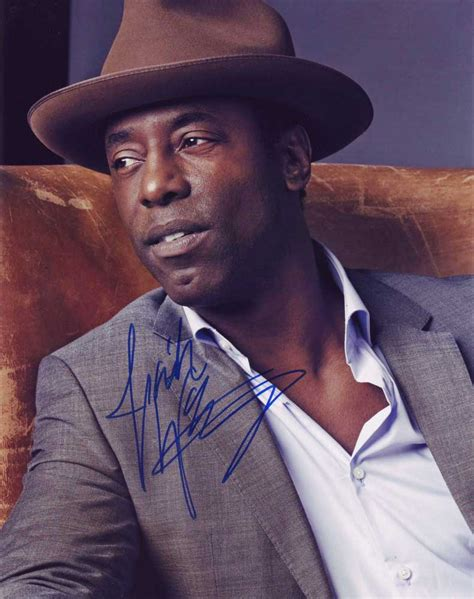 Tammy Offers Isaiah Washington Support by Isaiah Washington In Person Autographed Photo