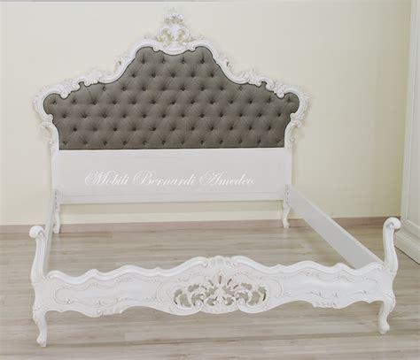 letti in stile barocco letto barocco laccato letti