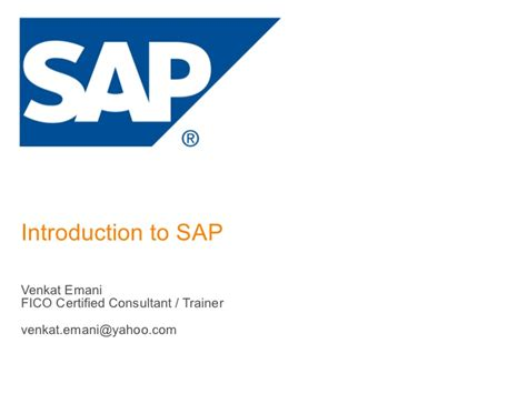 sap tutorial beginners ppt sap fico overview