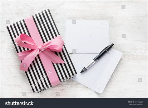 Empty Gift Cards - empty greeting card wrapped gift envelope stock photo 441992221 shutterstock