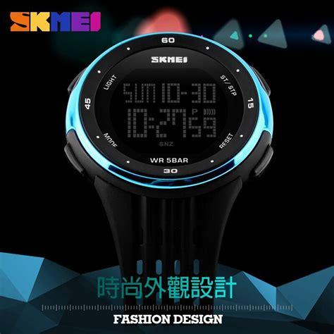 Jam Tangan Pria Skmei Digital Dg1219 skmei jam tangan digital pria dg1219 black jakartanotebook