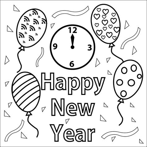 coloring pages for new years christian coloring pages christian happy new year coloring