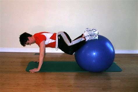 exercise ball exercises  throwing