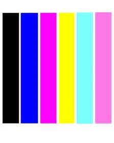 what color are used for which tests in phlebotomy 6 color print test black cyan magenta yellow photo