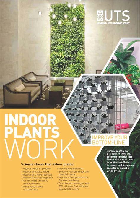 improve triple bottom   indoor plants ieq indoor