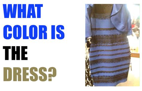 what color dress what color is the dress solved with science everyday