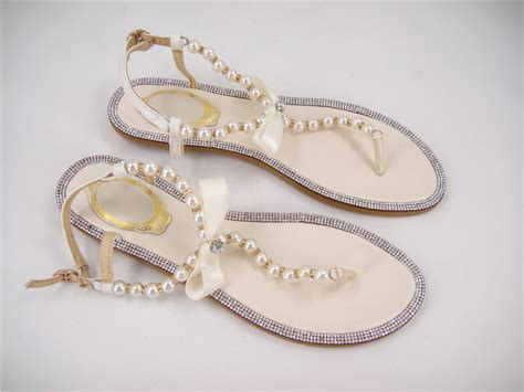Bridal Sandals Flat by Free Shopping Rhinestones Bridal Sandals Flat Wedding