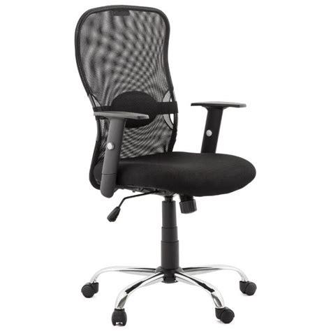 fauteuil de bureau tissu fauteuil de bureau modica en tissu noir