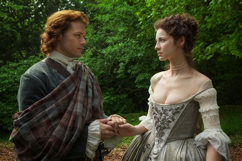 outlander the wedding of claire and jamie tvline