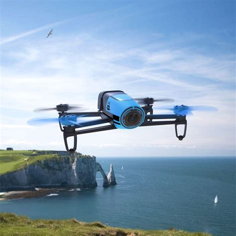 Drone Hd parrot bebop quadcopter drone 14 mp 1080p hd blue ebay