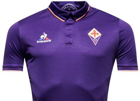 fiorentina 16 17 le coq sportif home shirt 16 17 kits