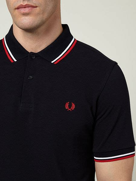 Polo Shirt Fred Perry fred perry tipped polo shirt sale extremegn co uk