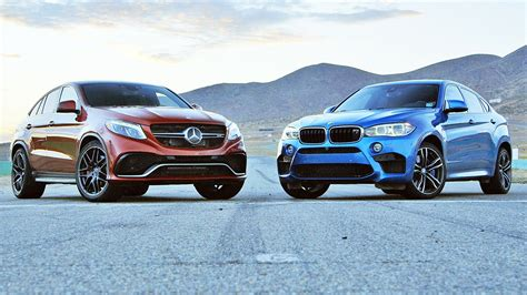 mercedes vs bmw ads 2015 bmw x6 m vs 2016 mercedes amg gle63 s coupe 2