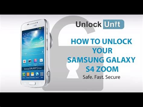 i want to unlock my samsung galaxy s4 model no sph l720 unlock samsung galaxy s4 zoom how to unlock your samsung
