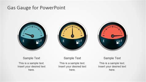 Gas Gauge Powerpoint Shapes Slidemodel Powerpoint Dashboard Gauges