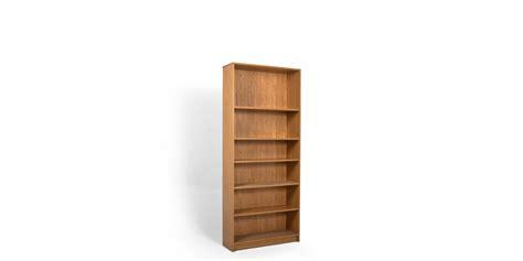 bookcase 36 x 84 36 quot w x 84 quot h medium oak laminate bookcase bkc013361