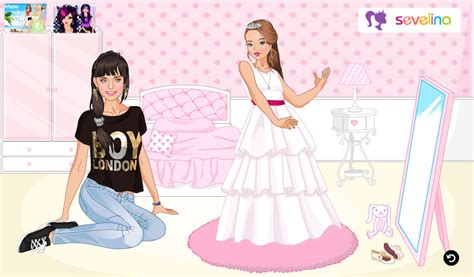 dress up games best games for girls cartoon doll emporium sevelina babysitter sevelina games for girls