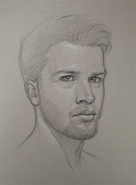 Sketches By Artists by Pencil Self Portrait Study By Houstonsharp On Deviantart