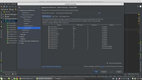 android version 4 4 4 sdk android studio can t support version 4 4 4 stack overflow