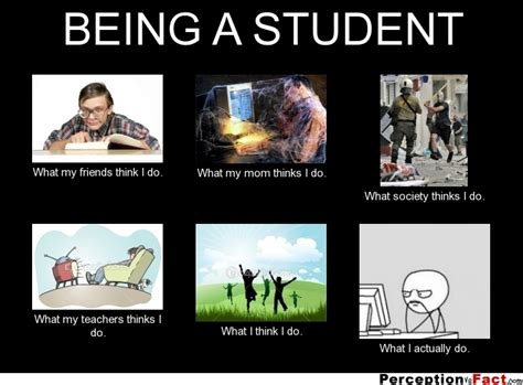 what does being a being a student what think i do what i really