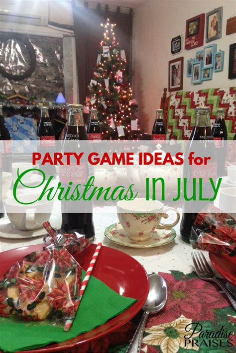 cool party game ideas  christmas  july christmas  july australian christmas