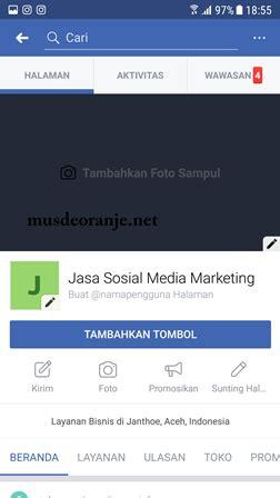 membuat fanspage facebook lewat hp cara membuat halaman fanspage di facebook lewat hp lengkap
