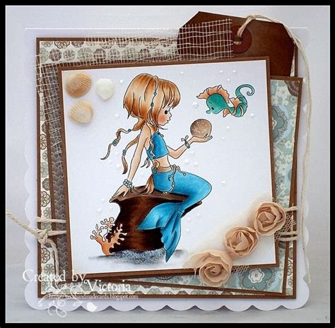 Vixx Handmade Cards - 114 best sting fairies mermaids images on