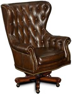 Desk Chair Brown Leather Governors Genuine Brown Leather Executive Office Desk