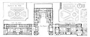 Floor Plan Versailles by Floor Plan Of The Ch 226 Teau De Versailles Floor Plans