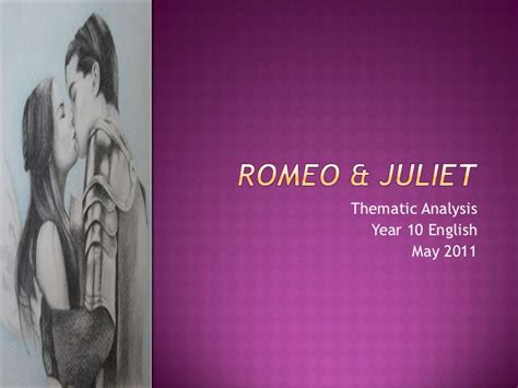 romeo and juliet different themes romeo juliet themes lesson