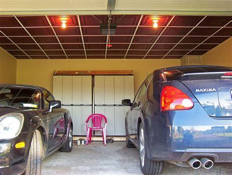 Gridiron Garage by Low Profile Grid In Garage Ceilume