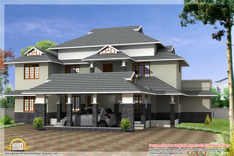 home design different style india house elevations kerala