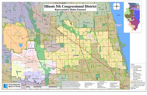 map  cook county il usa states map collections