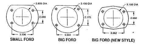 listing pattern exles ford truck 9 quot rear end disc brake conversion kit 11 5