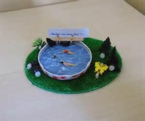 weiteres geldgeschenk swimming pool gartendeko ein