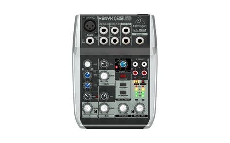 Behringer Xenyx Q502usb behringer xenyx q502usb mixer soundcreation