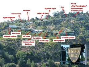 Star Map Los Angeles by Movie Star Homes Map Beverly Hills Rachael Edwards