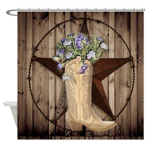 cowgirl shower curtain cute western cowgirl shower curtain by therusticcottage