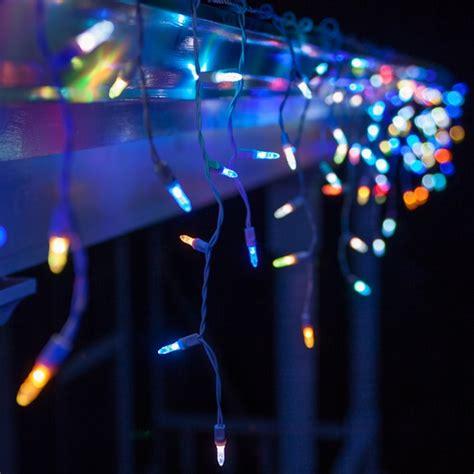 led icicle lights multi color led lights 50 m5 multicolor color change led