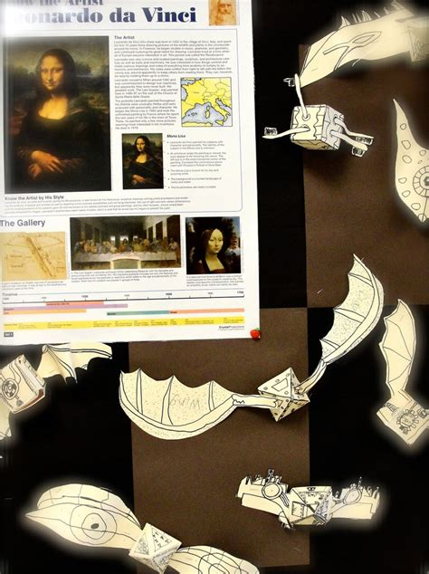 leonardo da vinci biography for 4th graders da vinci s wings 4th grade flying machines inspired by da
