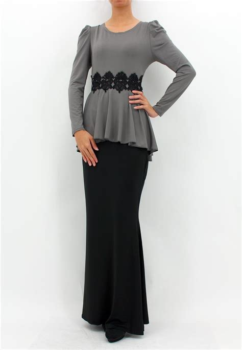 Zalora Baju Kurung Peplum fesyen baju kurung peplum terkini newhairstylesformen2014