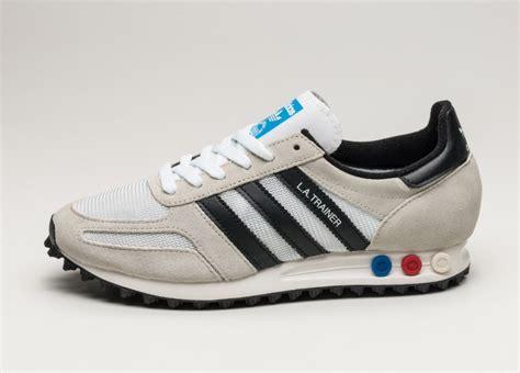 adidas la trainer og adidas la trainer og vintage white core black clear