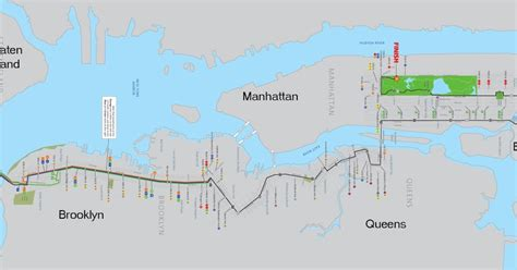 nyc marathon map mcbrooklyn complete list of closings for sunday s nyc marathon