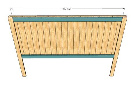 build queen headboard plans plans woodworking wood