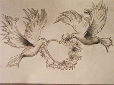 flying dove tattoo designs two flying doves tattoos