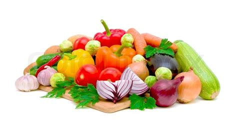 fresh organic vegetable mix   stock photo