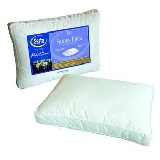 Serta Feather Pillow by Serta Firm Pillow
