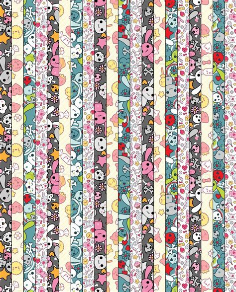 printable star paper strips cute lucky stars paper 3 by floritty on deviantart