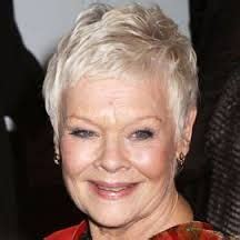 judy dench grey hairstyles the lovely dame judi dench stars over 50 loving life